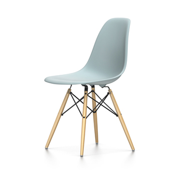 vitra eames plastic side chair dsw new dimensions ice grey