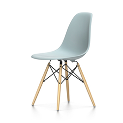 VITRA Eames Plastic Side Chair DSW NEW DIMENSIONS (Navy Blue ...