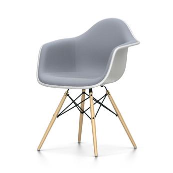 VITRA Eames Plastic Armchair full padding DAW NEW DIMENSIONS (White ...
