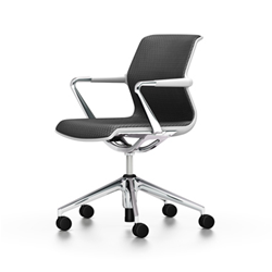 VITRA office chair 5 star base on wheels UNIX CHAIR DIAMOND MESH