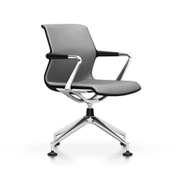 VITRA office chair 4 star base UNIX CHAIR DIAMOND MESH