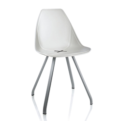ALMA DESIGN X Chair Collection set de 4 chaises X SPIDER