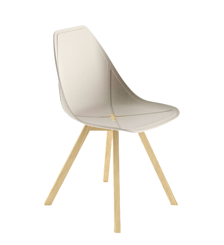 ALMA DESIGN X Chair Collection Set Of 4 Chairs X WOOD