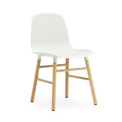 NORMANN COPENHAGEN set of 2 chairs FORM CHAIR with oak base