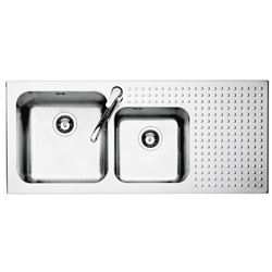 BARAZZA sink built-in SELECT 1IS12060/2D