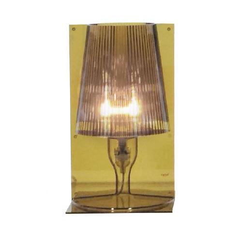 kartell lampe de table take vert olive polycarbonate transparent. Black Bedroom Furniture Sets. Home Design Ideas