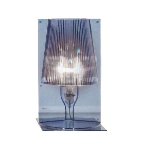 kartell lampe de table take ciel bleu polycarbonate transparent. Black Bedroom Furniture Sets. Home Design Ideas