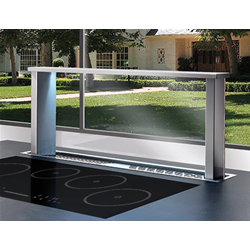 AIRONE extractor hood downdraft MOZART with AMD motor