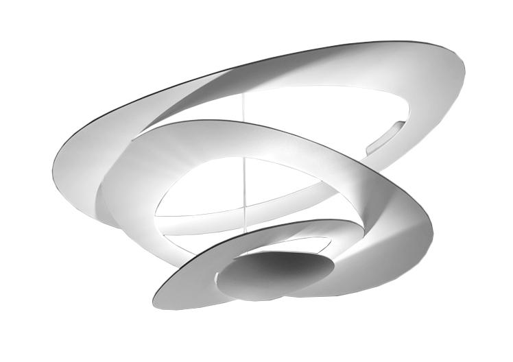 artemide lampe au plafond pirce blanc halog ne. Black Bedroom Furniture Sets. Home Design Ideas