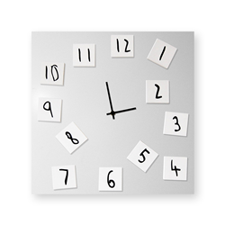 dESIGNoBJECT wall clock CHANGING CLOCK