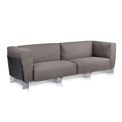 KARTELL 3 places sofa POP DUO