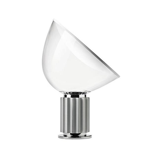 FLOS lampe de table TACCIA SMALL LED (Anodisé - aluminium et verre)