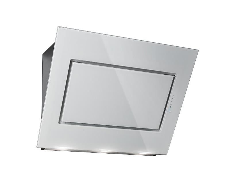 falmec hotte murale quasar blanc 60 cm acier inox verre. Black Bedroom Furniture Sets. Home Design Ideas
