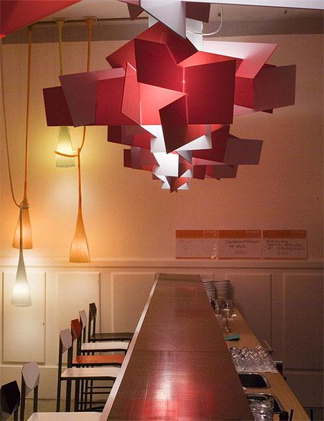 Foscarini Suspension Lamp Big Bang Led Red White Inside