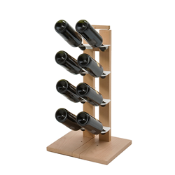 LE ZIE DI MILANO bottle holder on one side ZIA GAIA