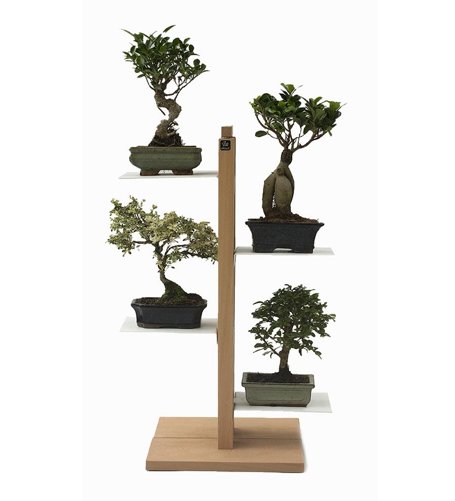 Le zie di milano porte plantes zia flora h 66 cm Porte plante exterieur