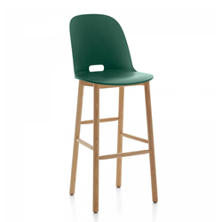 EMECO ALFI BARSTOOL HIGH BACK