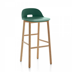 EMECO ALFI BARSTOOL LOW BACK