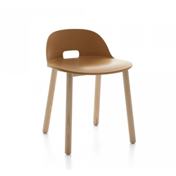 EMECO ALFI CHAIR LOW BACK chaise avec le dossier bas