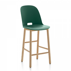 EMECO ALFI COUNTER STOOL HIGH BACK tabouret avec le dossier haut