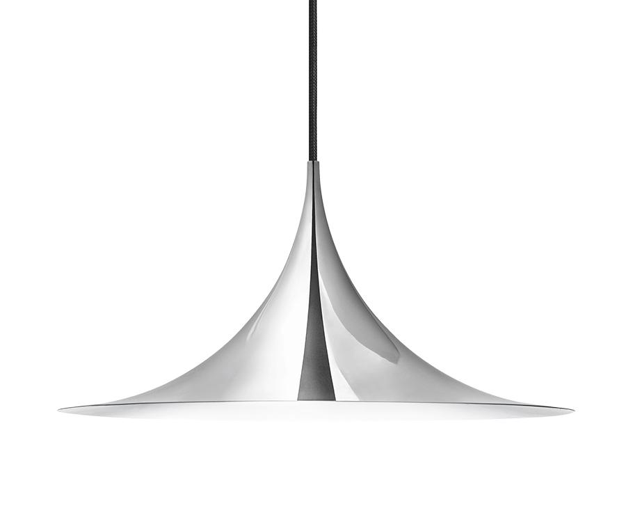 gubi lampe suspension semi 60 cm chrome m tal. Black Bedroom Furniture Sets. Home Design Ideas