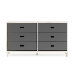 NORMANN COPENHAGEN dresser KABINO with 6 drawers