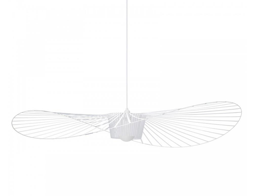 Petite Friture Suspension Lamp Vertigo Large White Glass Fiber And Polyurethane Myareadesign Com