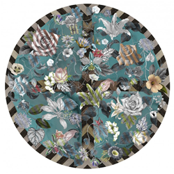 MOOOI CARPETS tapis MALMAISON AQUAMARINE Signature collection