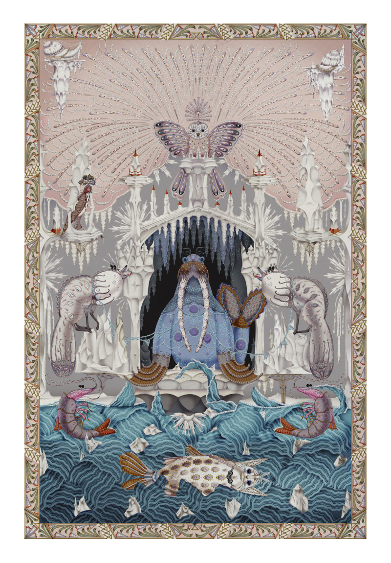 Moooi Carpets Rug Polar Byzantine Signature Collection Chapter 4