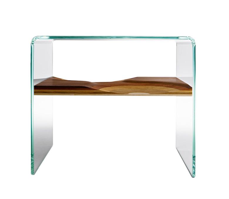 Horm table de nuit bifronte - Table de nuit d angle ...
