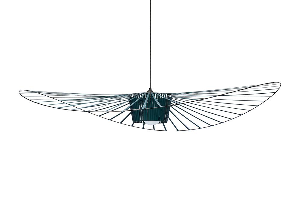 polyurethane Glass Green FRITURE lamp suspension VERTIGOLarge Fiber and PETITE rxoQWedBC