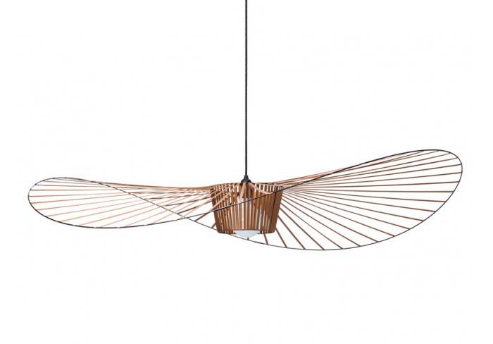PETITE FRITURE suspension lamp VERTIGO (Large / Copper - Glass Fiber ...
