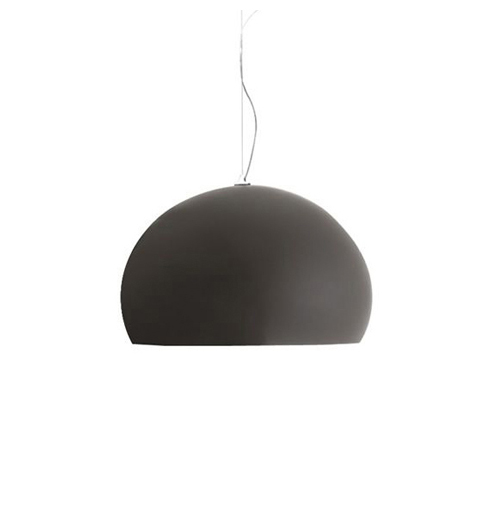 KARTELL pendant lamp SMALL FL/Y fly (Matt brown - Batch-dyed PMMA)