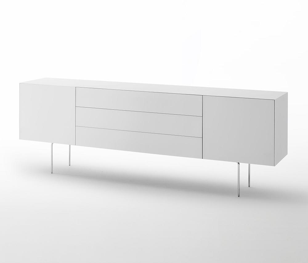 Glas italia meuble conaineur magic box mgb13 cristal - Meubles contemporains classic design italia ...