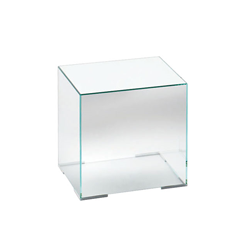 GLAS ITALIA table basse ILLUSION