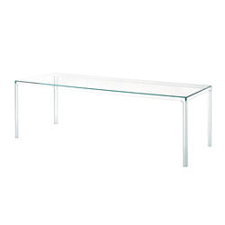 GLAS ITALIA table rectangulaire OSCAR