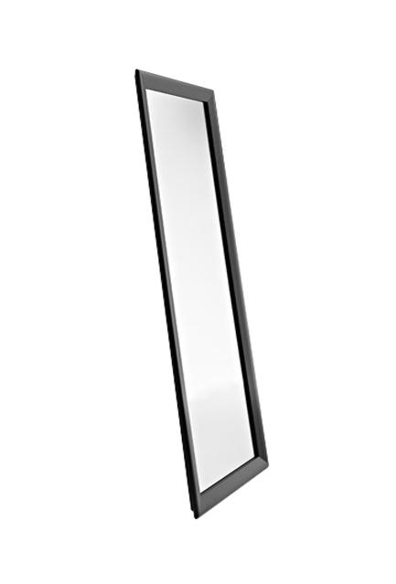 Horm miroir murale ou sur pied black yume 137 x h 73 cm for Decoration sur verre et miroir