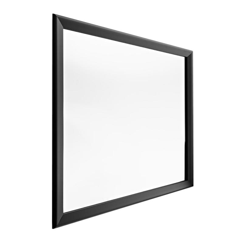 Horm miroir murale ou sur pied black yume 105 x h 105 cm for Miroir sur pied design