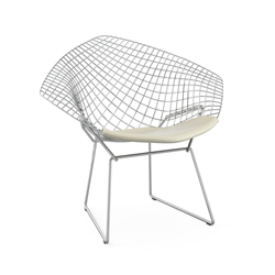 KNOLL armchair wirh cushion BERTOIA DIAMOND