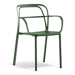 PEDRALI set of 2 chairs INTRIGO 3715