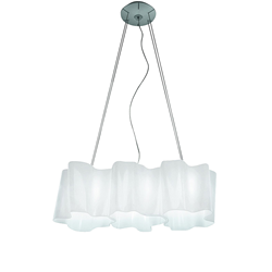 ARTEMIDE lamp LOGICO 3 IN LINEA SUSPENSION