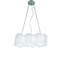 ARTEMIDE lamp LOGICO 3 IN LINEA INI SUSPENSION