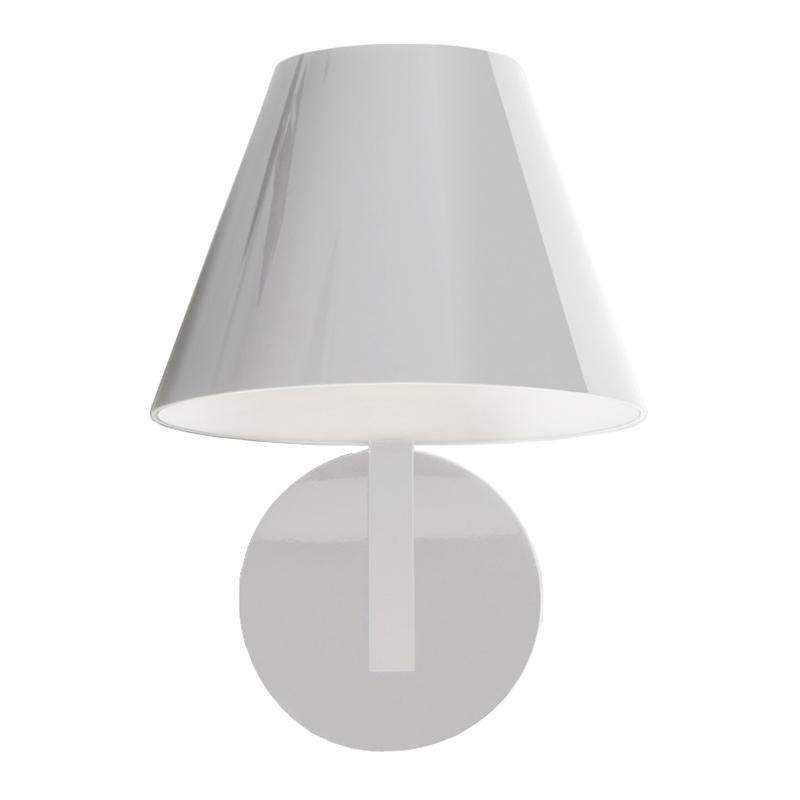 artemide lampe murale la petite blanc polycarbonate aluminium m thacrylate. Black Bedroom Furniture Sets. Home Design Ideas