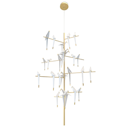 MOOOI lampe à suspension PERCH LIGHT TREE