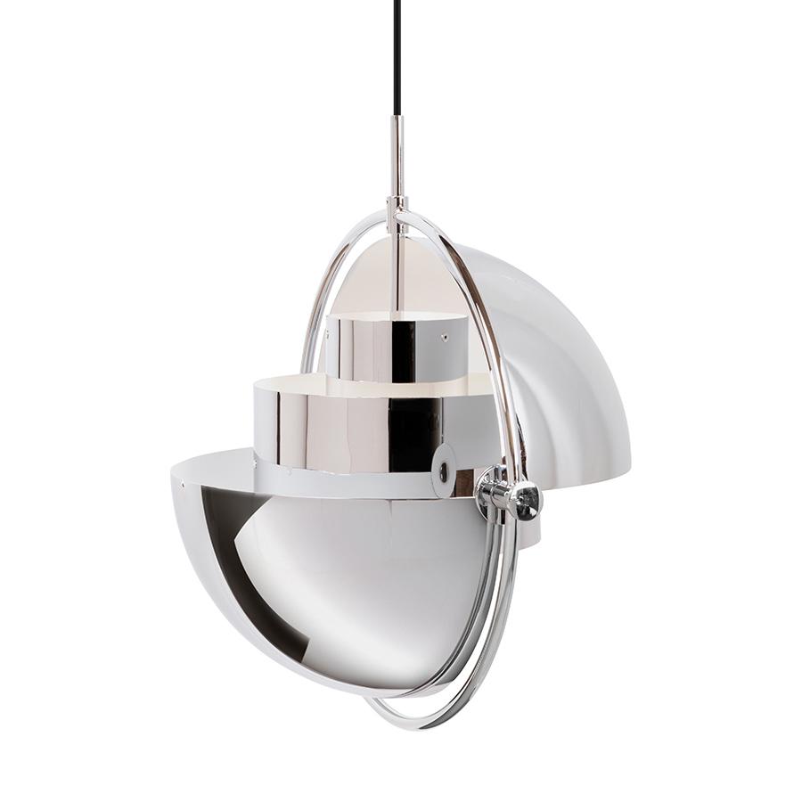 gubi lampe suspension multi lite chrome m tal. Black Bedroom Furniture Sets. Home Design Ideas