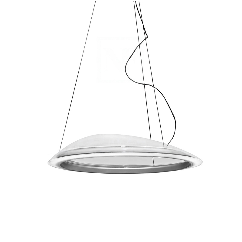 Artemide Suspension Lamp Ameluna Led Methacrylate Technopolymer