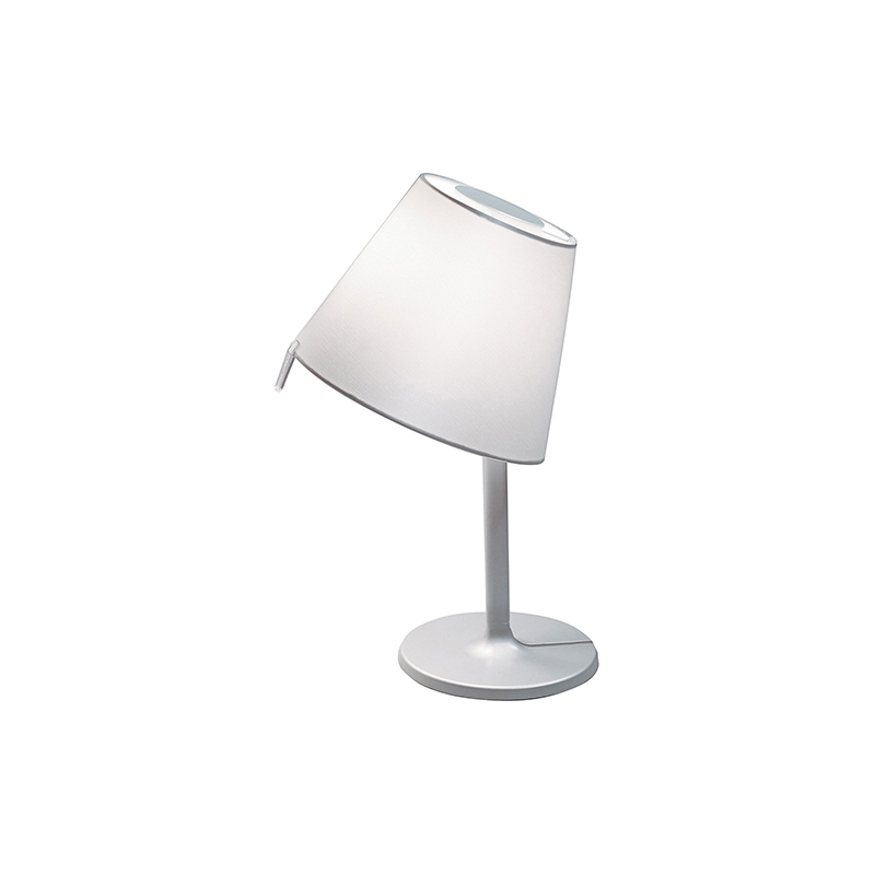 Artemide Lampe De Table Melampo GrisStructure Nottediffuseur WCxroedB