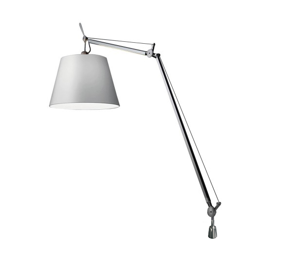 artemide lampe de table tolomeo mega avec support de bureau fixe 42 cm avec variateur. Black Bedroom Furniture Sets. Home Design Ideas