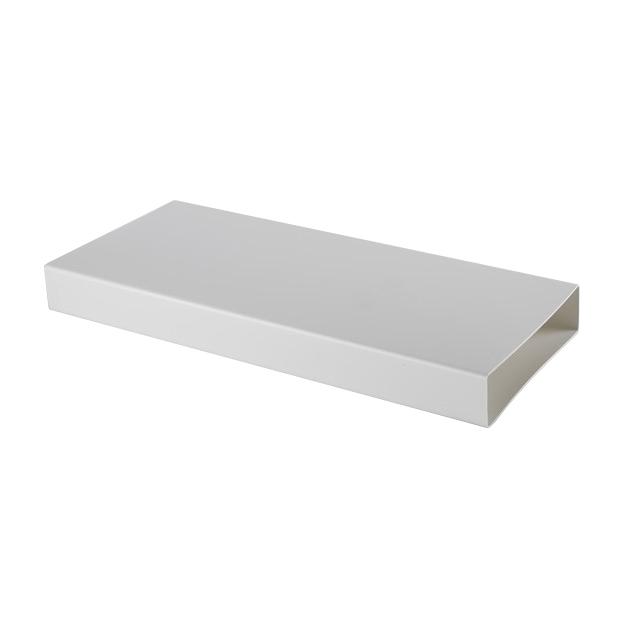 elica rectangulaire tuyau kit0121012 500x55x222 mm pour hotte vacuation nikolatesla blanc. Black Bedroom Furniture Sets. Home Design Ideas