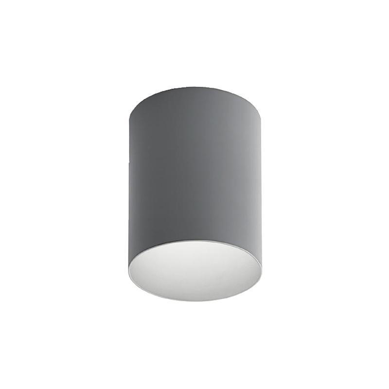 artemide lampe de plafond tagora ceiling 270 avec le faisceau lumineux 16 gris blanc 4000k. Black Bedroom Furniture Sets. Home Design Ideas